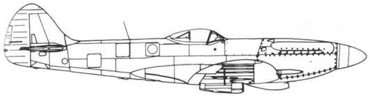 Spitfire FR. XVIII серийный