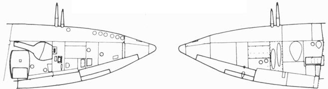 Крыло прототипа F. 21