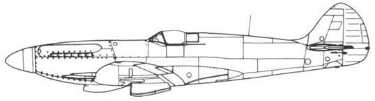 Spitfire F.21 серийный
