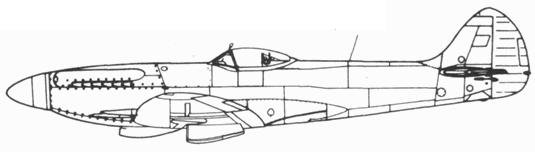 Spitfire F.22 прототип