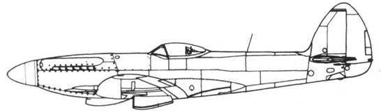 Spitfire F.22 серийный