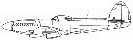 Spitfire F.22 поздний серийный