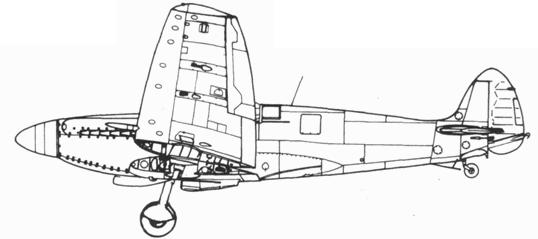 Seafire F. XV поздних серий