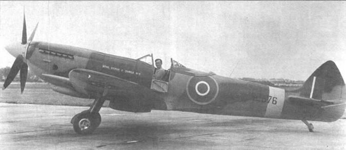 Серийный «Спитфайр» LF Mk XVI (SL576).