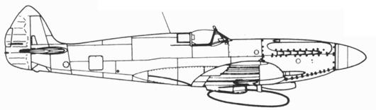 Seafire XV вариант для Бирмы