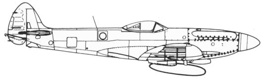 Seafire F. XVII серийный