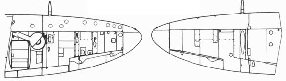 Крыло серийного Seafire F. XVII