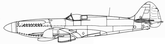 Seafire F. 45 прототип