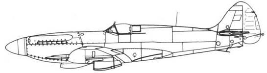 Seafire F. 45 серийный
