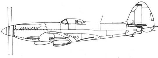 Seafire F. 46 серийный