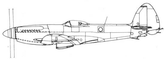 Seafire F. 47 серийный