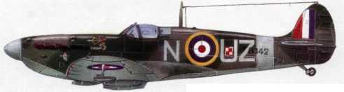 «Спитфайр» Мк. 116 из 306-й эскадрильи RAF (август 1941г.)