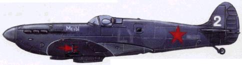 Фоторазведчик PR Мк. IV. 3-я эскадрилья 118-го ОРАЛ (1944г.)