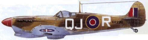 «Спитфайр» Мк. VB Тгор из 48-й эскадрильи RAF