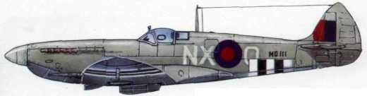 «Спитфайр» Мк. VII (131-я эскадрилья RAF. 1943г.)