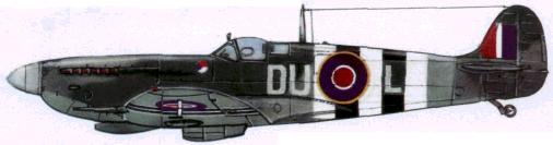 «Спитфайр» Мк. IX (312-я эскадрилья RAF. 1944г.)