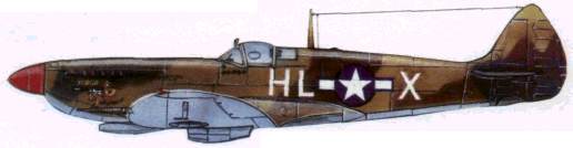 «Спитфайр» Мк. IX (15-я воздушная армия США. Италия. 1944г.)