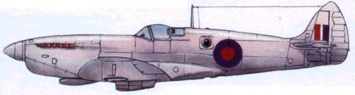 Фоторазведчик «Спитфайр» PR Мк. X (541-я эскадрилья RAF. 1945г.)