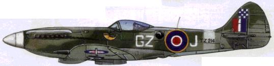 «Спитфайр» FR XVIII (32-я эскадрилья RAF, зона Суэцкого канала. 1947г.)