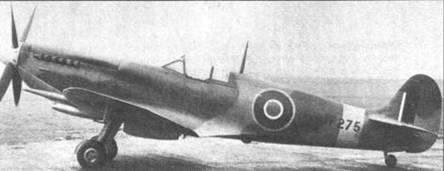 JF275 — «Спитфайр» Mk VIII. Основное отличие Mk VIII от Mk VII — отсутствие гермокабины.
