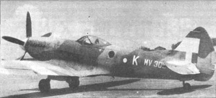 «Спитфайр» FR Mk XIVc (MV303), Тихий океан.