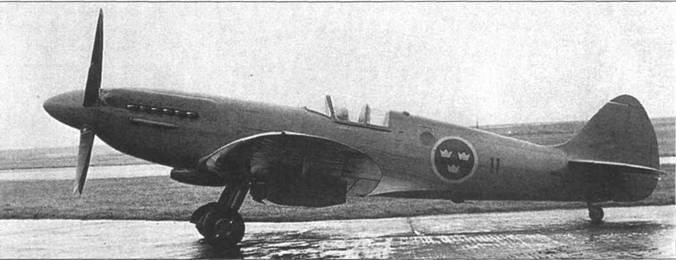 После окончания войны «Спитфайры» PR Mk XIX закупили Турция, Индия и Швеция. На снимке — «Спитфайры» PR Mk XIX ВВС Швеции. По серийному номеру «31001» можно установить, что это первый «Спитфайр» из «шведской» партии. Эту догадку подтверждает и бортовой номер — «11».