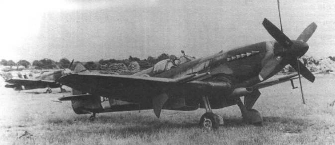 LA218 — «Спитфайр 21» со встречным винтом. Такой винт получил положительную оценку при испытаниях в AFDU в мае 1945 года.