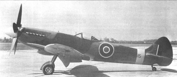 «Спитфайр» F Mk 22 с серийным номером РК315.