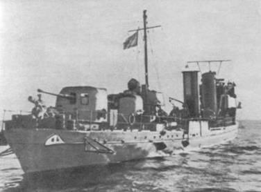 """Опытовое судно """"Конструктор"""". 1943 г."""