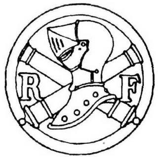 Эмблема французских танковых войск.