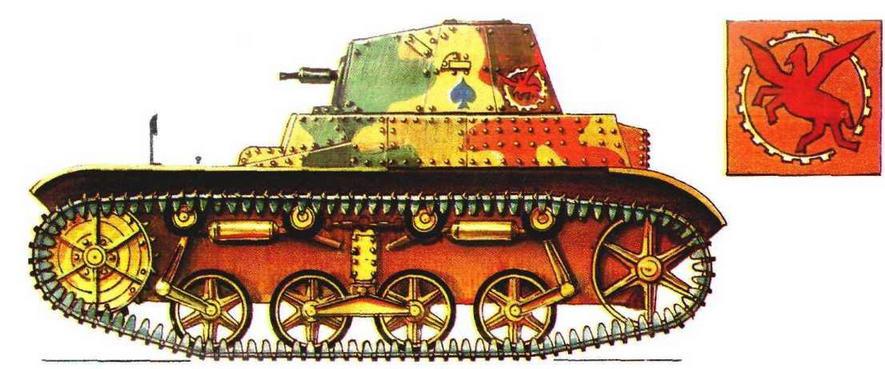 Легкий танк AMR 33. 3-й полк бронеавтомобилей (3 RAM) 3-й легкой кавалерийской дивизии (3 DLC), Франция, 1940 г.
