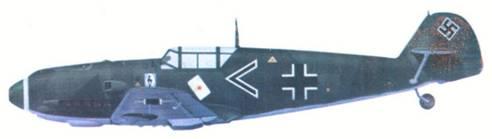 Bf 109E-1 адъютанта I./JG 51 оберлейтенанта Йозефа Приллера, сентябрь 1939