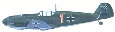 Bf 109Е лейтенанта Ганса Бертеля из 2./ JG 52, Бонн, октябрь 1939