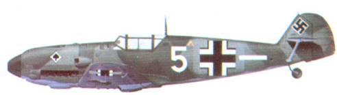 Bf 109E-3 унтерофицера Стефана Литьенса из 4./ JG 53, октябрь 1935