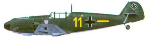 Bf 109Е фельдфебеля Альфреда Хельда, из 6./ JG 77, сентябрь 1939