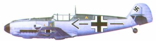 Bf 109E-3 командира JG 1 подполковника Карла Шуммахера, весна 1940