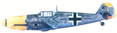 Bf 109E-4/N командира JG 26 подполковника Адольфа Галланда, декабрь 1940