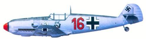 Bf 109Е комэска 2./ JG 26 оберлейтенанта Фрица Лозигейта, март 1940