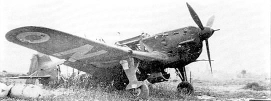 Один из противников немецких асов – разбитый французский MS. 406