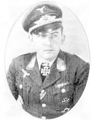 Командир I./JG 53 гауптман Карл-Ганс Майер погиб во время перегона безоружного Bf 109Е 17 октября 1940 г.