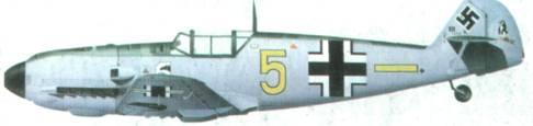 Bf 109E фельдфебеля ГАНСА Тройча из 6./ JG 77, декабрь 1939