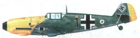 Bf 109Е командира l.(J)/LG 2 оберлейтенанта Герберта Ильфильда, сентябрь 1940