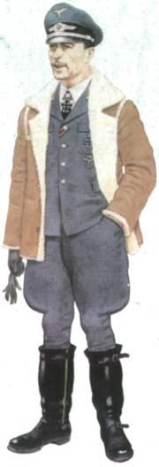Майор Вернер Мельдерс – командир полка JG 51, Виссант, сентябрь 1940