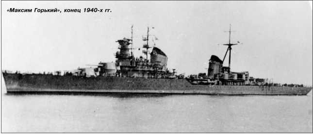 «Максим Горький», конец 1940-х гг.
