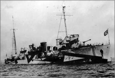 Эсминец «Рыков» (будущий «Валериан Куйбышев»), 1929г.
