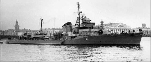 «Громкий» на Неве, 1950-е гг.