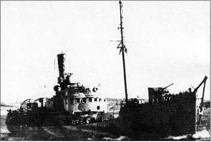 Тральщик Т-887.