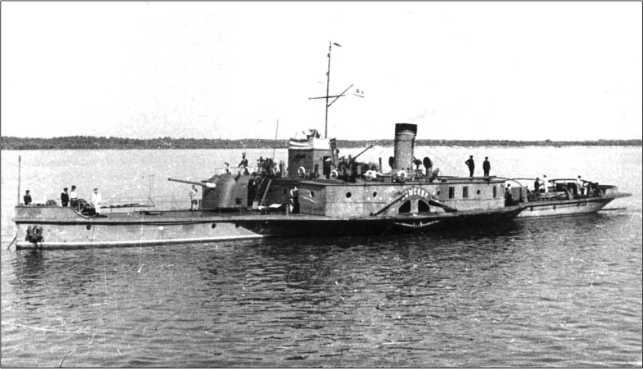 Канонерская лодка «Усыскин», 1943г.