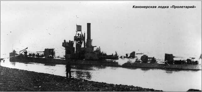 Канонерская лодка «Пролетарий».