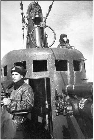 Мостик «К-22», 1943г.